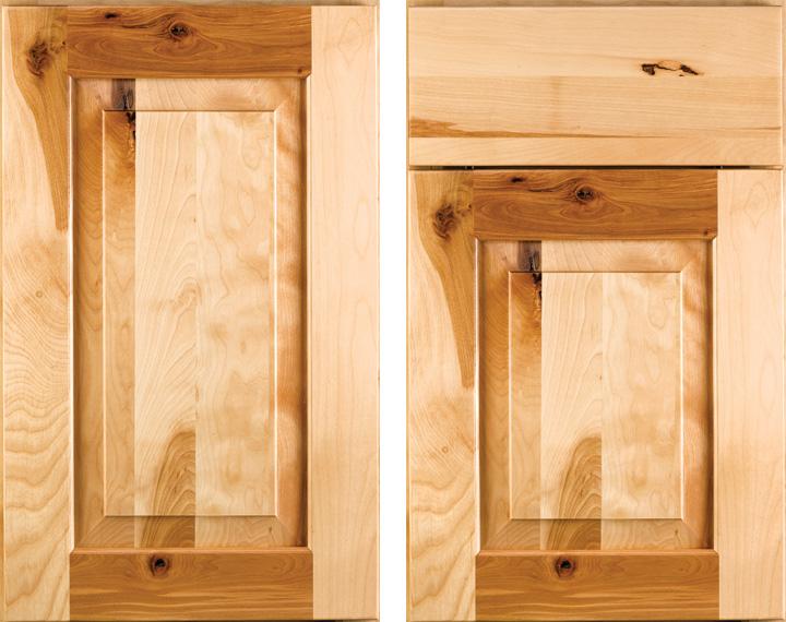 Square Raised Panel Solid Birch